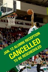 Jan 12. Men's Basketball Reception Cancelled