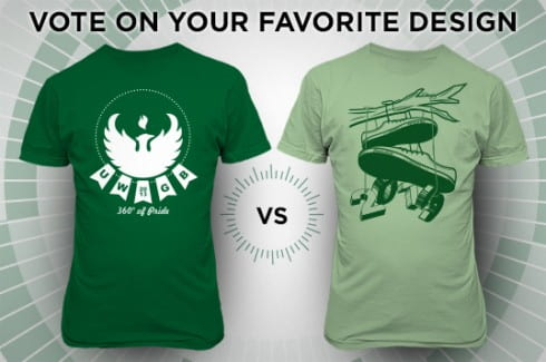 Phoenix PRIDE T-shirt designs