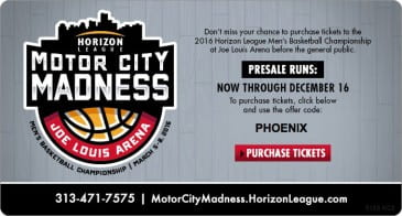 Horizon-League-Motor-City-Madness-at-Joe-Louis-Arena-March-5-8-2015