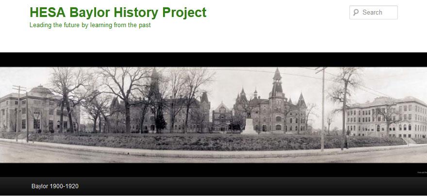 HESA Baylor History blog