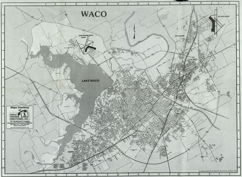 Waco map