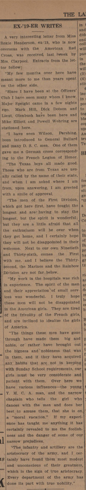 Baylor Lariat, May 29, 1919