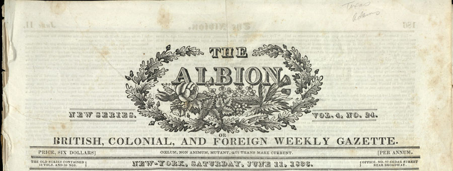 Albion (New York) Masthead