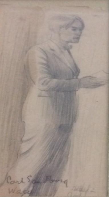 Sandburg sketch