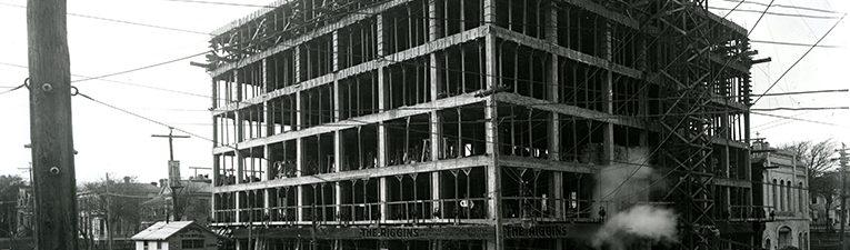"""Texas Over Time: """"The Raleigh Building, Waco, TX"""""""