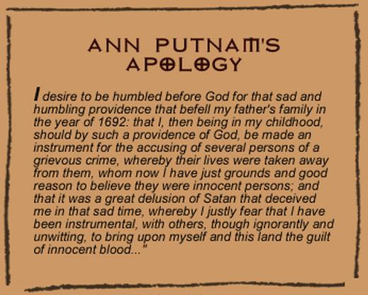 Aftermath of the Salem Trials | Encyclopedia.com