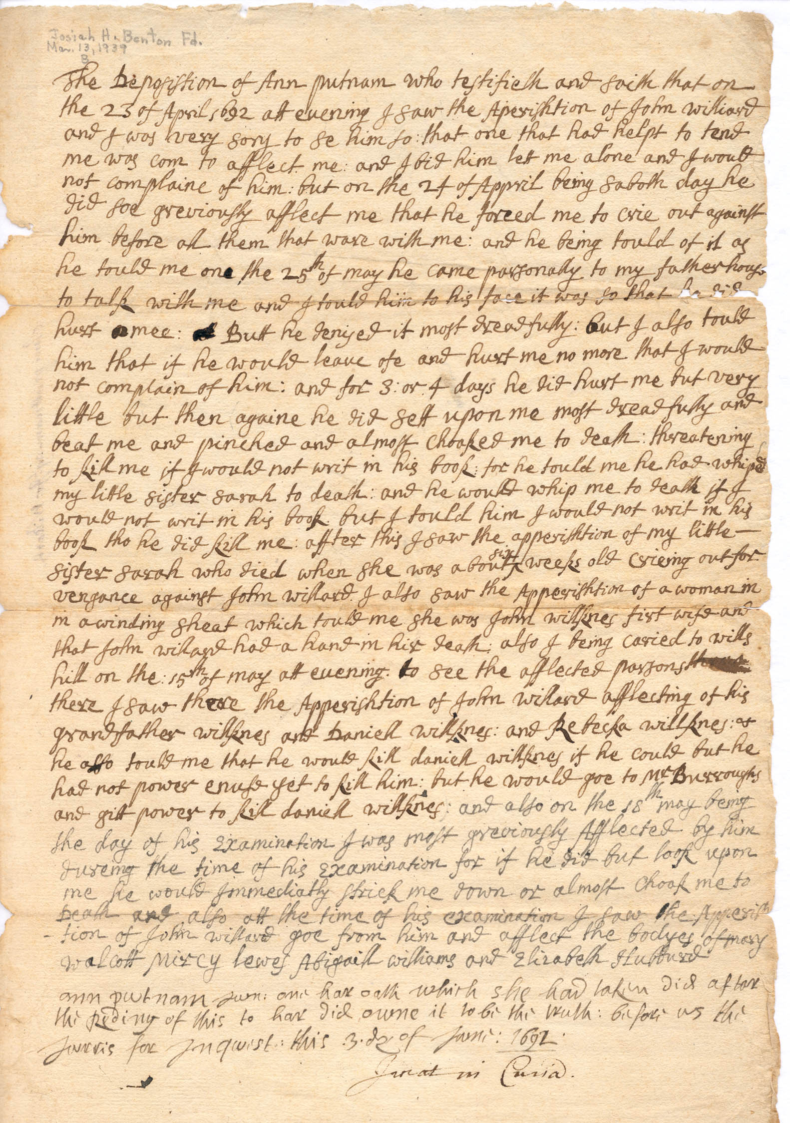 salem witch hysteria dbq Salem witch trials 1692, hysteria in colonial  the accusations of witchcraft in salem dbq's 1)  to justify her role in the salem witch trials in.