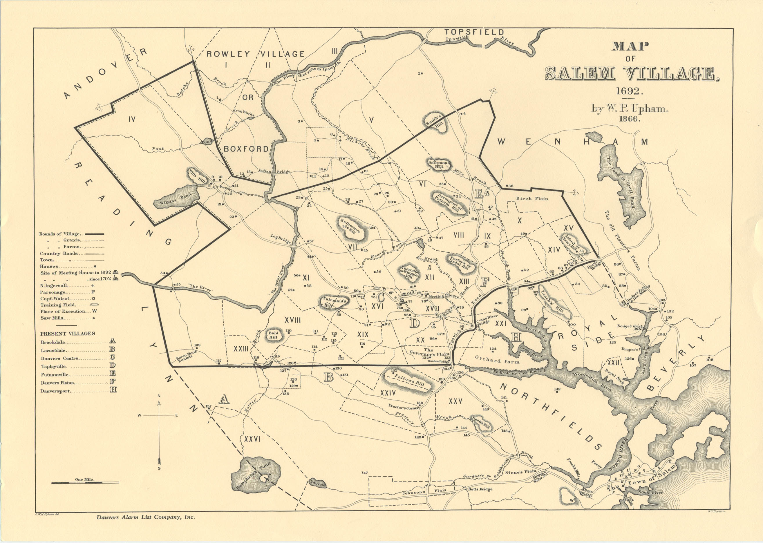 an overview of the salem witch trials and their aftermath Overview and scope of project the goal of this project is to discover our  ancestors  ancestors involved in the notorious salem witch trials, validate their  family trees and  the salem witch trials were a series of hearings before local  magistrates  aftermath on 22 september 1693, the last of the so-called  witches were.