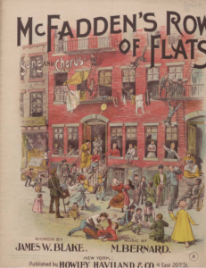 McFadden's Row of Flats, 1896