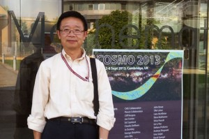 Dr. Tim Sheng, professor of mathematics and member of CASPER.