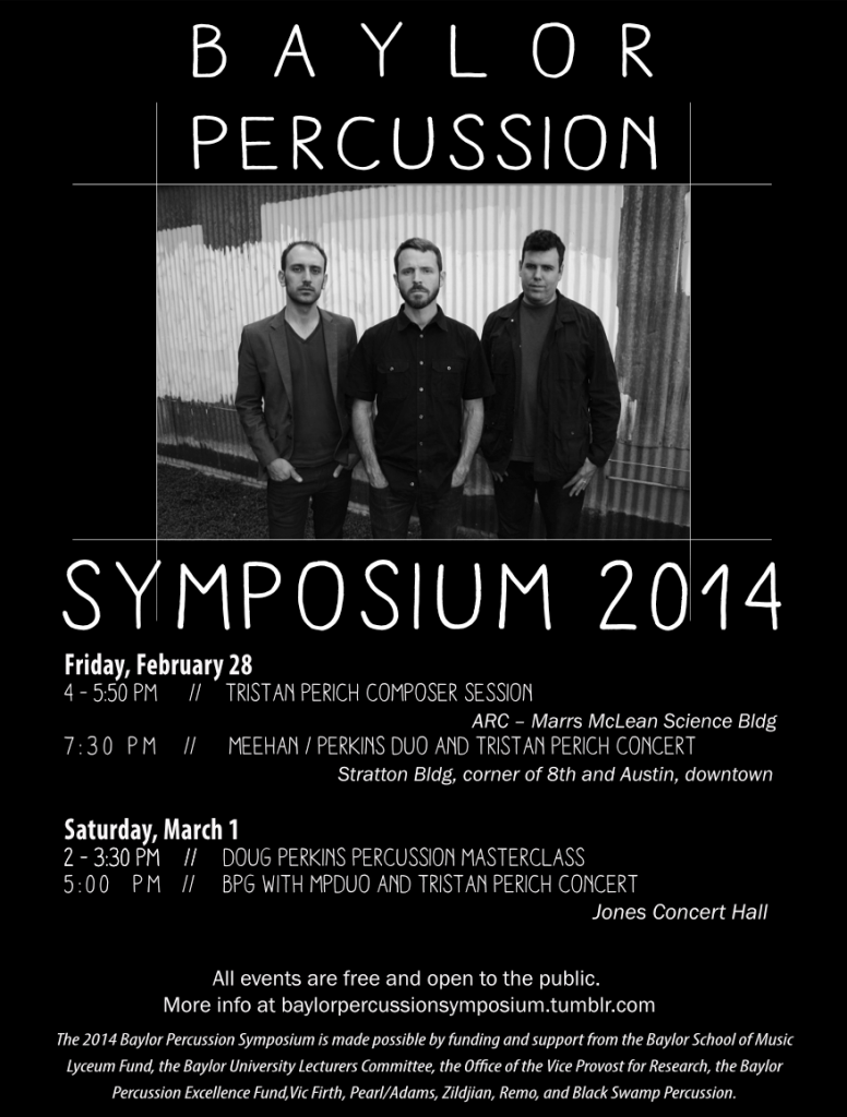 Baylor Percussion Symposium