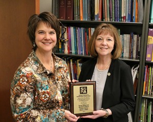 Dr. Rachelle Rogers (left) and Dr. Trena Wilkerson