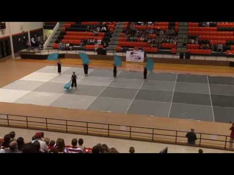 Student becomes teacher of color guard taylor rexrode for Winterguard floors