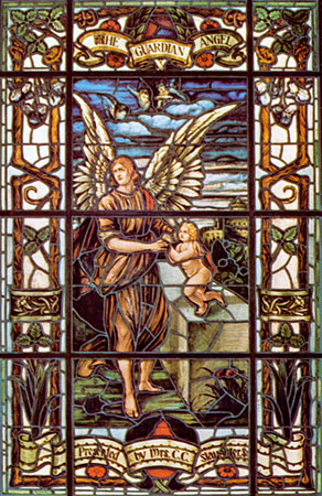 A Sample Of Some Of The Beautiful Stained Glass Windows In