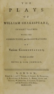 Title Page from Johnson