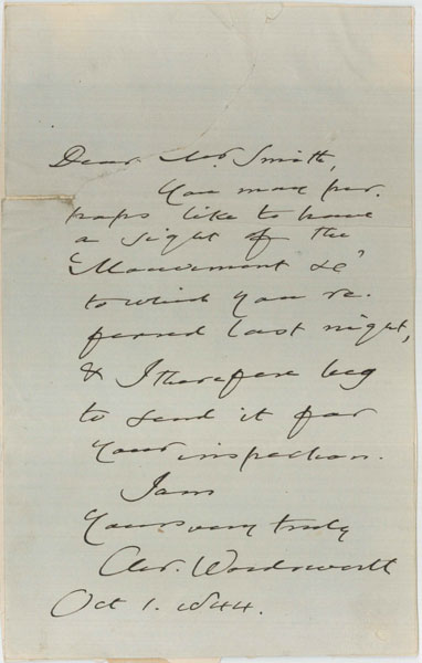 Christopher-Wordsworth-to-Smith,-1-October-1844web