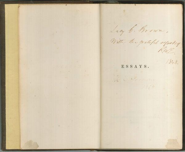Emerson's-Essaysweb