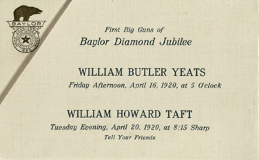 Yeats Invitation