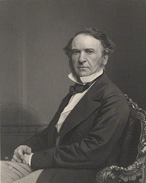 NPG D8335; William Ewart Gladstone by William Holl Jr, after a photograph by  John Jabez Edwin Mayall