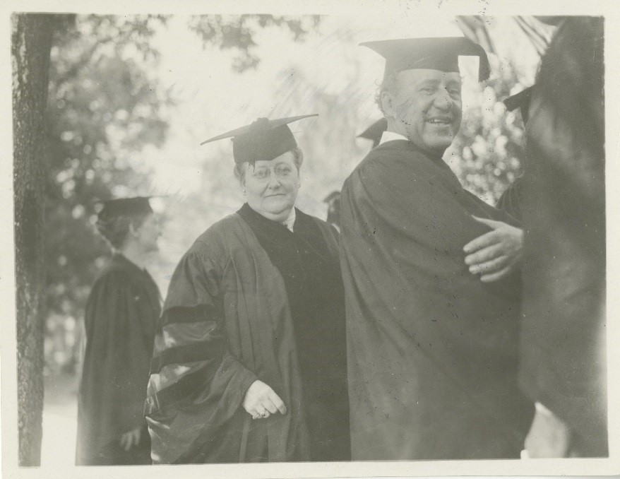 Amy Lowell at Baylor Commencement