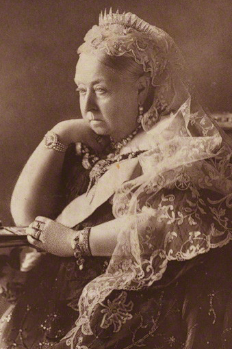 NPG P1700(31a); Queen Victoria by Gunn & Stuart
