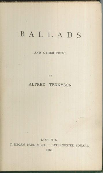Tennyson-Ballads-1web