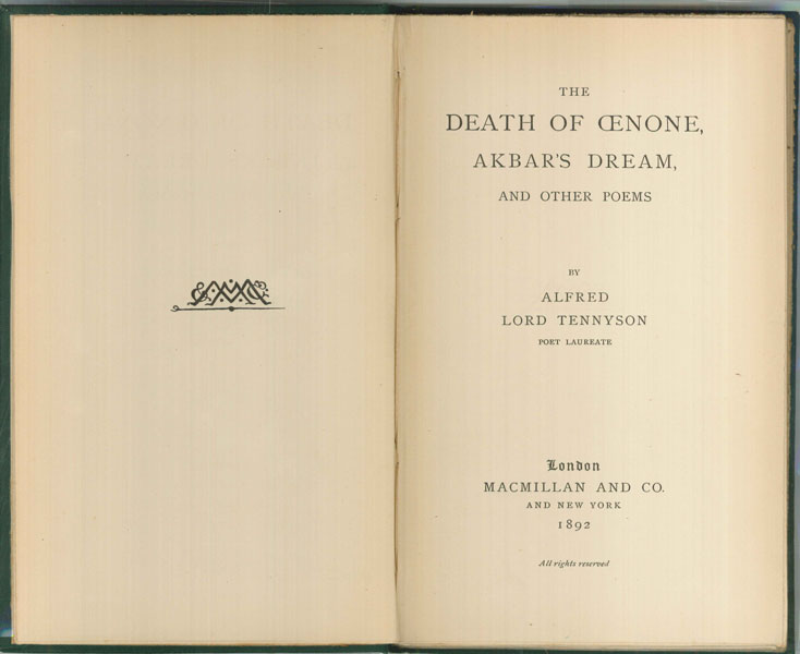 Tennyson-The-Death-of-Oenone-1web