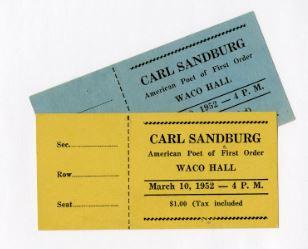 Sandburg tickets