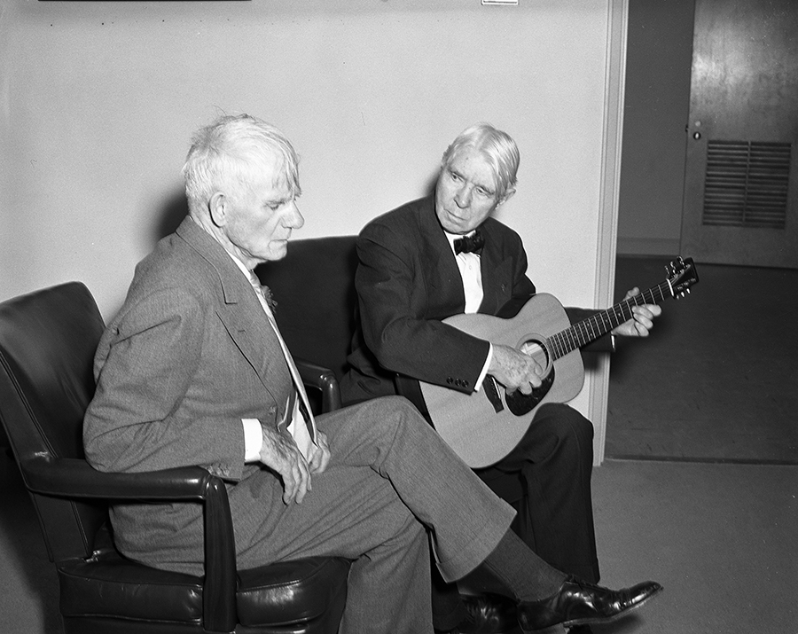 Sandburg with Guitar and AJA