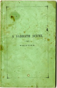 Whittier Sabbath cover final