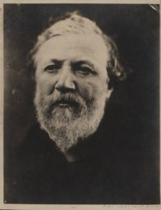 Robert Browning by Julia Margaret Cameron. 1865.