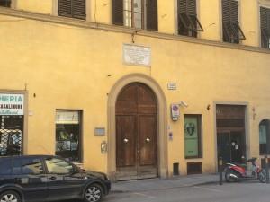 Casa Guidi, Piazza San Felice 8, Florence