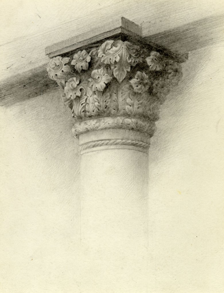 Lilias Trotter. Column. Courtesy of Ruskin Library.
