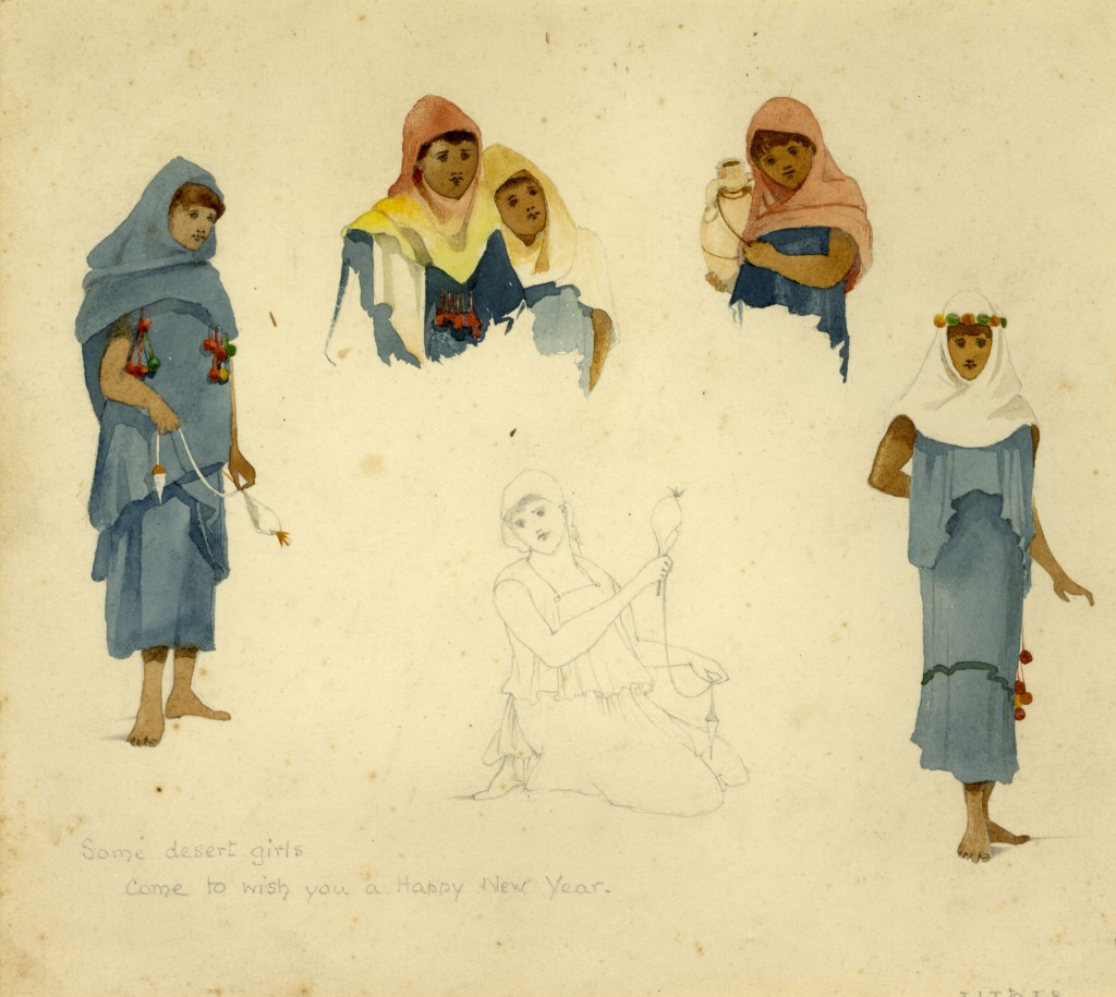 Lilias Trotter. Figure Studies. Courtesy of Ruskin Library.