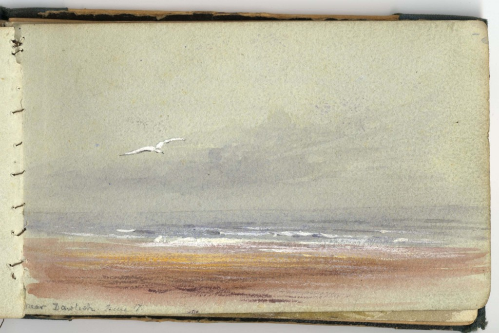 Lilias Trotter. Image from Sketchbook-3. Courtesy of Ruskin Library.