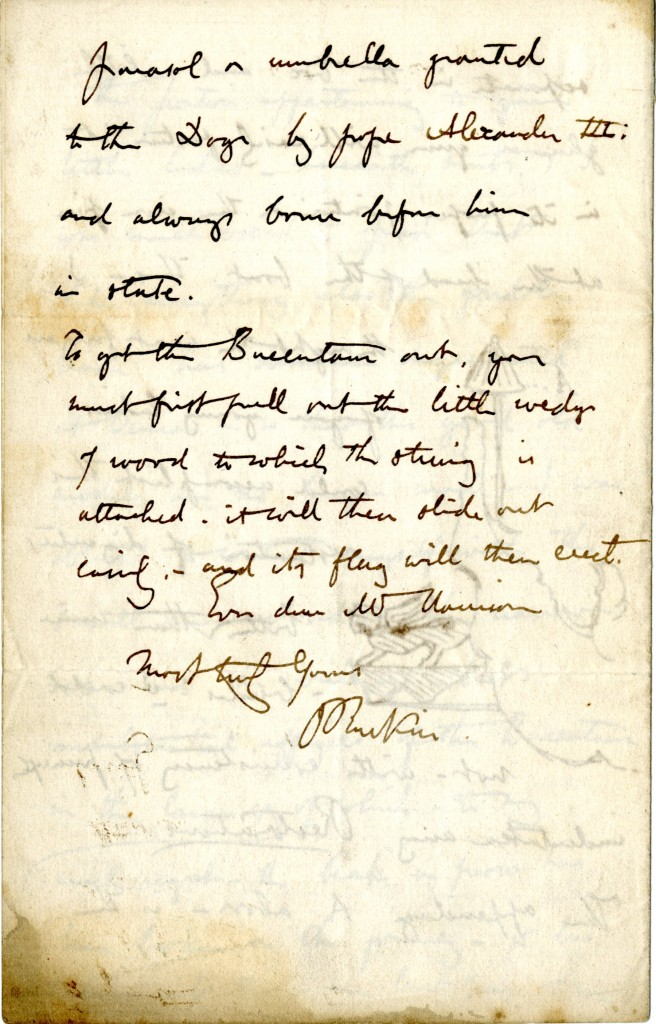Letter from John Ruskin to W. H. Harrison. 10 November [1851]. Page 4.