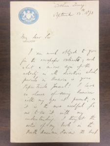 Arnold Letter 1873_1