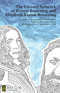 The Literary Network Of Robert Browning And Elizabeth Barrett Browning Exhibit Poster
