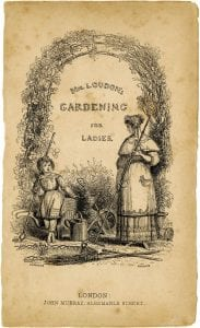 Fig. 4, Title Page to Jane Loudon's Practical Instruction in Gardening for Ladies (1841), Armstrong Browning Library