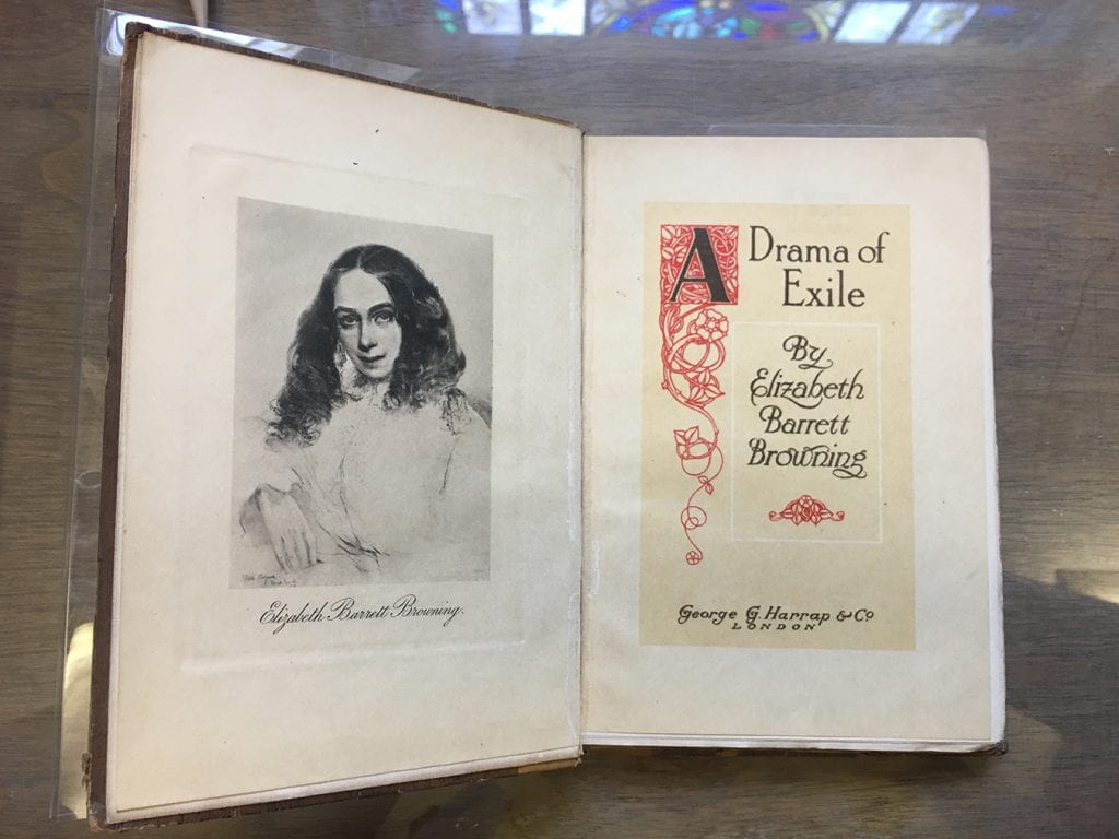 Elizabeth Barrett Browning's A Drama of Exile, London: George G. Harrap & Co, 1900.