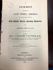 Sermon Preached at Saint Peter's, Cornhill