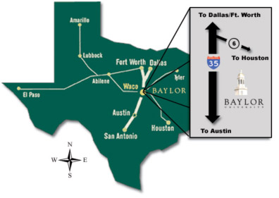 My baylor mackenzie mayo 39 s site for How far is waco texas from houston texas