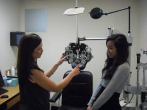 Lisa Dinh with supervisor Dr. Carrie Divin.