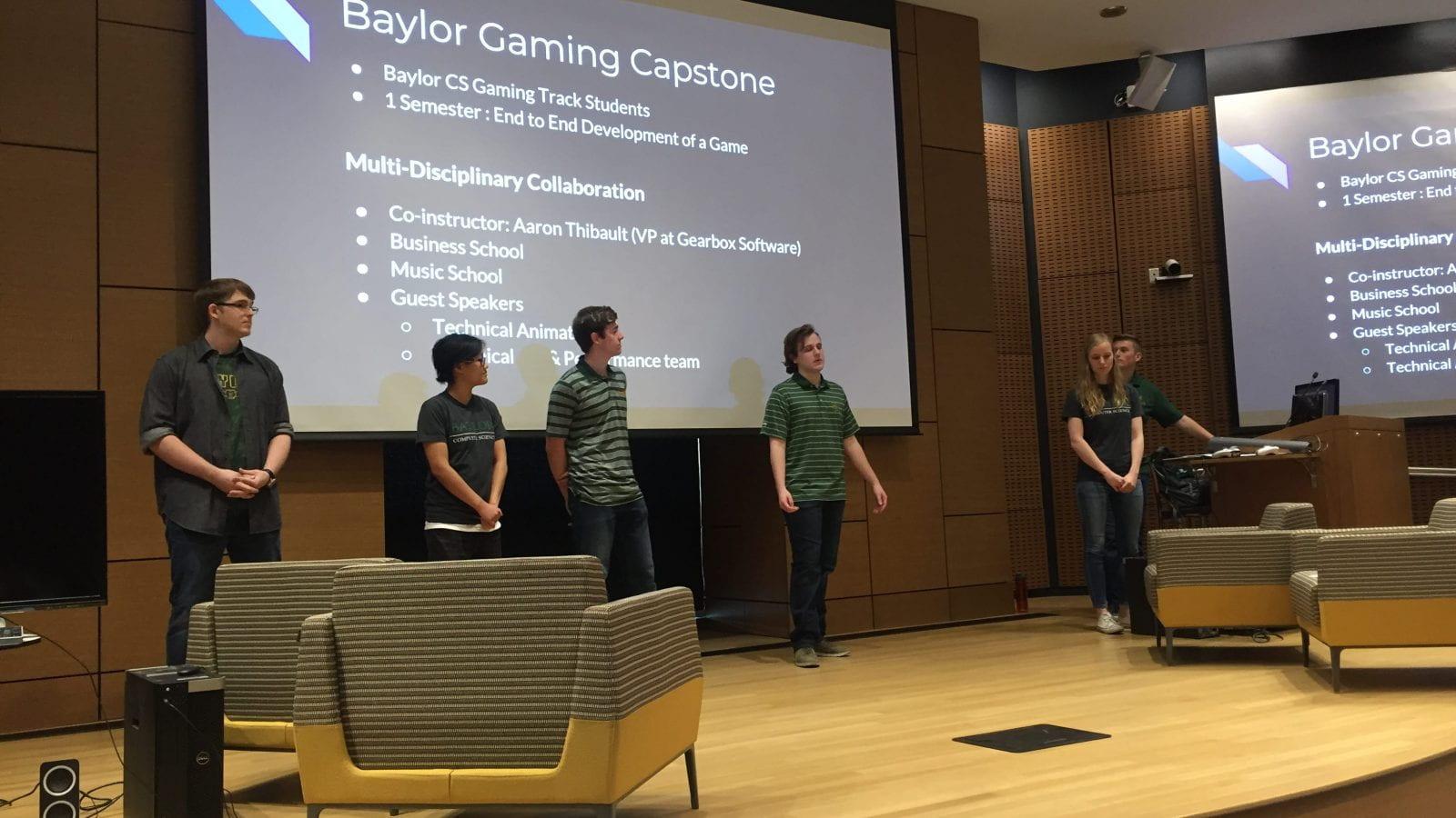 Gaming Capstone Presentation 2018