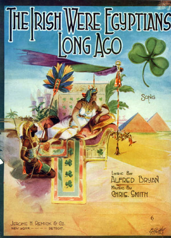 """""""The Irish Were Egyptians Long Ago"""" by Chris Smith. 1920."""