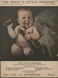 Oh! What a Little Whooper! 1919