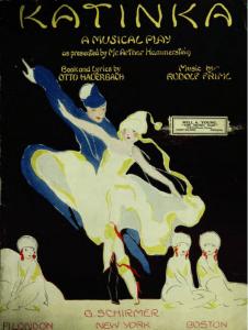 The Musical Play Katinka, 1916