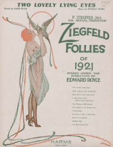 Two Lovely Lying Eyes, 1921