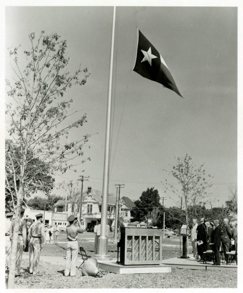 Flagpole Dedication 3