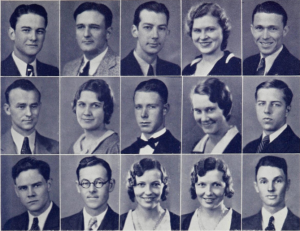 Baptist Student Union Council, 1932 Photo Courtesy of Baylor Texas Collection